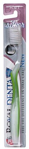 Royal Denta Nano Silber Zahnbürste, Weich (Grün)