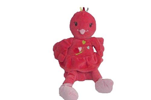 Kiabi–Doudou Nicotoy Kiabi pájaro Pantin rosa rojo...