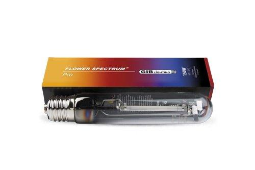 GIB HPS Lampe à Vapeur de Sodium 150 W Flower Spectrum Pro