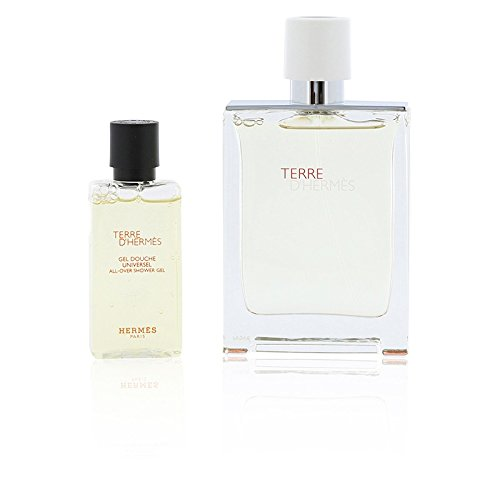 Hermes TERRE d'Hermes Eau Tres Fraiche Set 75ml Eau de Toilette Sprayflasche + 40ml Shower Gel