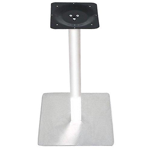 Yahee Tischgestell Edelstahl Tischplattenträger Untergestell Tischfuß 42 x 42 x 71,5 cm (quadratisch)