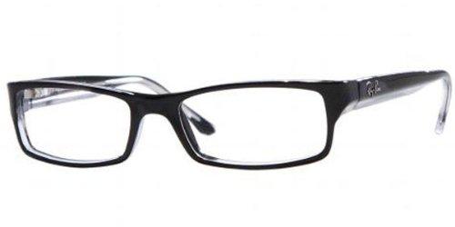 ray-ban-optical-montures-de-lunettes-rx5114-2034-black-on-transparent-52mm