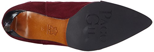 Paco Gil P2900, Bottines avec doublure intérieure femme Rouge - Rot (Hermes)