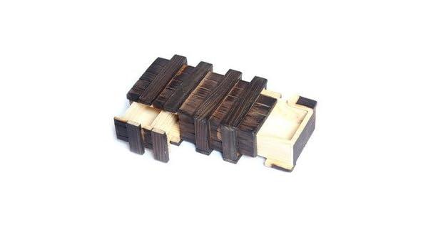 Close-Up Magic Cassetto Segreto Giochi di Magia Magic Wooden Puzzle Box