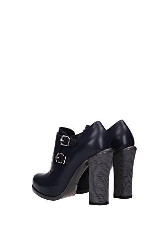 8T4582Q7NF0P4H Fendi Chaussure mi montantes Femme Cuir Bleu Bleu