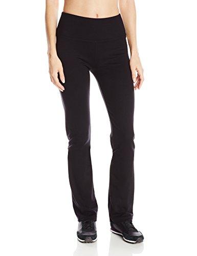 Calvin Klein Knit Pants (Calvin Klein Performance Damen Ponte-Knit Straight Leg Hose - Schwarz - Groß)