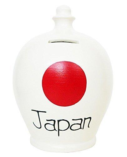 terramundi-salvadanaio-in-ceramica-colore-bianco-con-cerchio-nero-e-s212-giappone