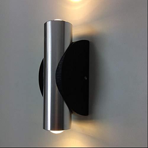 Kinderzimmer-kronleuchter Schattierungen (Wandleuchte, 2 W, hohe Leistung, LED-Wandleuchte, Wandleuchte nach oben und unten aus Aluminium, AC 85 - 220 V)