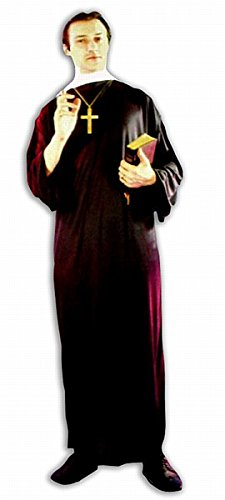 ÜBERGRÖßE ERWACHSENE PRIESTER - (Vikar Kostüm)