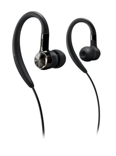 Philips SHS 8100 In-Ear Kopfhörer (Geräuschdämmmung) schwarz - Philips Ear-hook