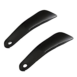 Sungpunet 2pcs plastica di Ricambio Pattino Lifter Scarpe Portatile Horn Lifter con Gancio Stile Semplice Scarpa Robusta Scorrimento Facile da Usare