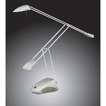 Lampe de bureau 1 ampoule fantasy couleur :  argent