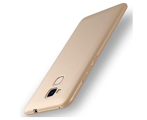 EIISSION Huawei Honor 5c Hülle, Hardcase Ultra Dünn Huawei Honor 5c Schutzhülle aus Hart-PC Case Cover Handyhülle für Huawei Honor 5c (Gold)