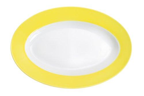 Kahla Pronto Plat ovale Jaune citron 31 cm