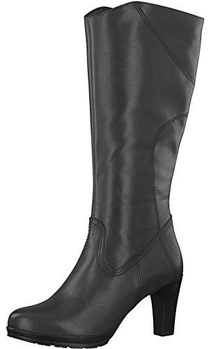 Tamaris Damenschuhe 1-1-25547-29 Damen Stiefel, Boots, Damen Stiefeletten, Herbstschuhe & Winterschuhe für Modebewusste Frau Grau (Anthracite), EU 37