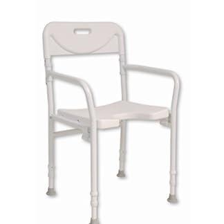 NRS Healthcare M00778 – Silla de ducha, plegable y ajustable