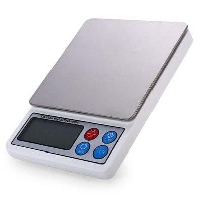 HaiMa Xy-8006 Tragbare Elektronische Digitale Küchen Skala-Silber 600G/0,01 G