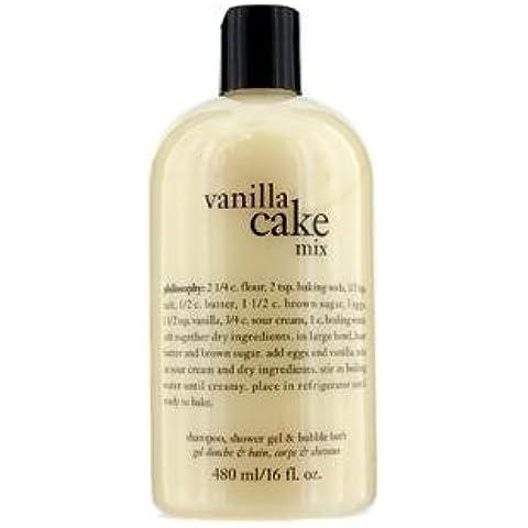 Philosophy Vanilla Cake Mix 16oz Shower Gel by Philosophy