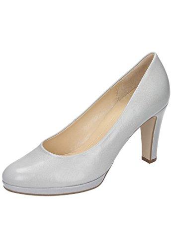 Gabor escarpins femme gris Blanc - Blanc