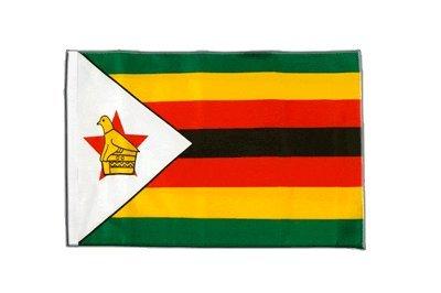 Preisvergleich Produktbild Flaggenfritze® Flagge Simbabwe - 30 x 45 cm
