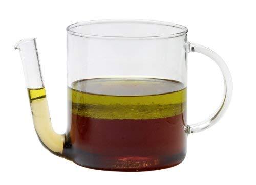 Trendglas Jena Fetttrenner / Fettabschöpfer / Fetttrennkanne, 0,8 Liter