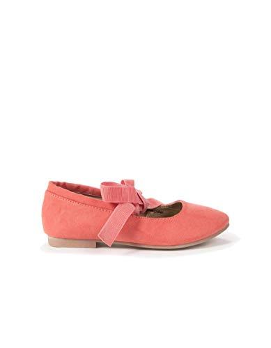ZIPPY Mädchen Bailarinas Com Lacito para Niña Geschlossene Ballerinas, Pink (Calypso Coral 17/1744 Tc 249), 27 EU
