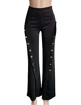 Anguang Pantaloni Flare Donna