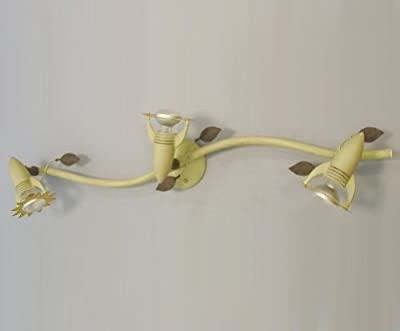 Kinderlampe Strahler Sonnenblume GIRASOLE 3xE14 40W Lampe