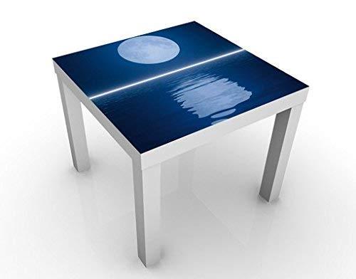 Apalis 46520-277168 Table d'appoint Design Silver Moon Rise, 55 x 55 x 45 cm, Bunt, 45x55