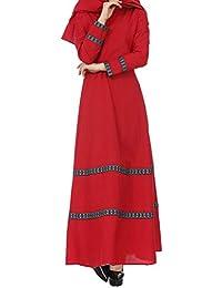 Vestido de Playa Niña Mujer,BBestseller Mujer Vestido Blusa de Solapa Casual para Mujer Manga