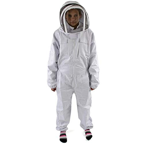 Easipet Beekeepers Bee Suit in 5 sizes Heavy Duty Cotton/Polyester (Large) Test