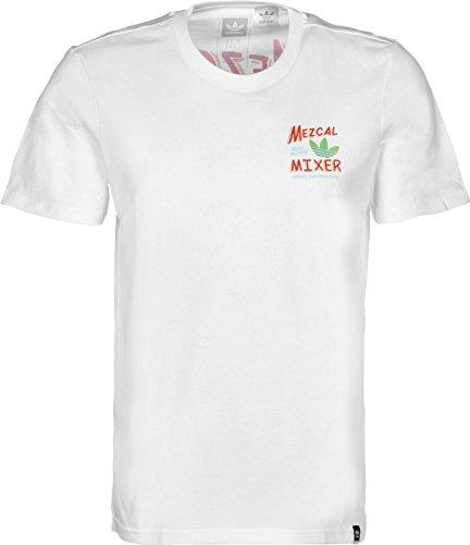 adidas Ornamental Mixer T-Shirt Weiß