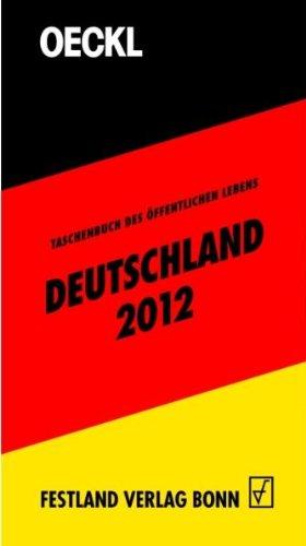 OECKL. Taschenbuch des Öffentlichen Lebens – Deutschland 2012