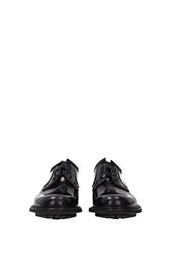 NEWBRIDGEBLACK Church's Derby Homme Cuir Noir Noir