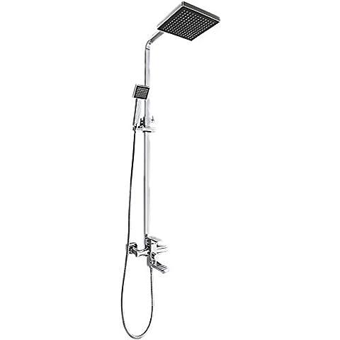 CAC Acciaio inossidabile Bagno doccia kit C489