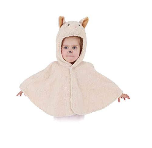 Kostüm Jungen Für Schaf - narrenkiste O5087-104 beige Kinder Mädchen Junge Schaf Schafcape Lamm Kostüm Gr.104