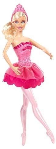 Mattel Barbie X8822 - Die verzauberten Ballettschuhe Ballerina-Prinzessin, rosa, Puppe zum Film
