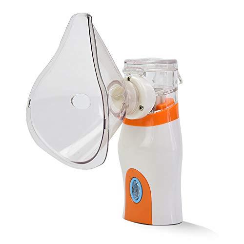 Inhalador recargable Humidificador portátil Nebulizador portátil para niños Adultos y cuidado diario en el hogar Vaporizador personal