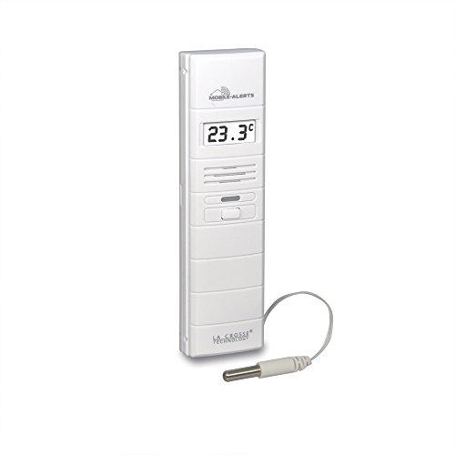 La Crosse Technology - MA10300 Capteur température et hygrométrie avec sonde piscine - A ajouter au kit de démarrage