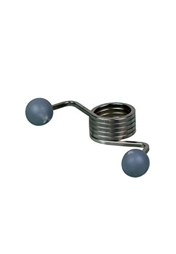 EcoSavers Universal-Türfeder, silberfarben - Mini-türschließer