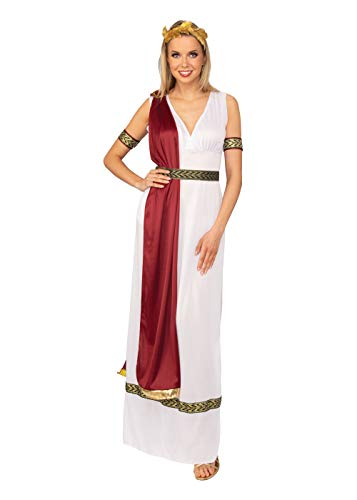 Bristol novelty ac398 costume da dea greca