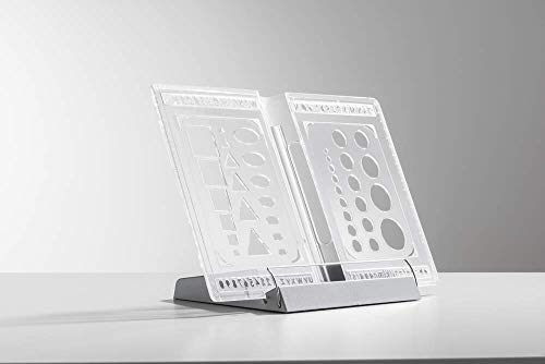 moll Buchstütze Erweiterung Kinderschreibtisch, transparent, 15 x 32 x 23 cm