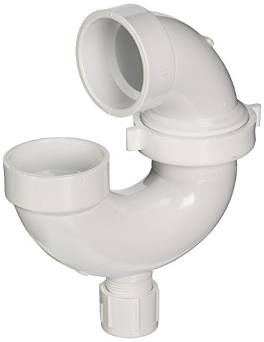 Schedule 40 Pvc-p-trap (GENOVA PRODUCTS - 1-1/2-Inch Schedule 40 PVC Adjustable P-Trap With Union & Cleanout)