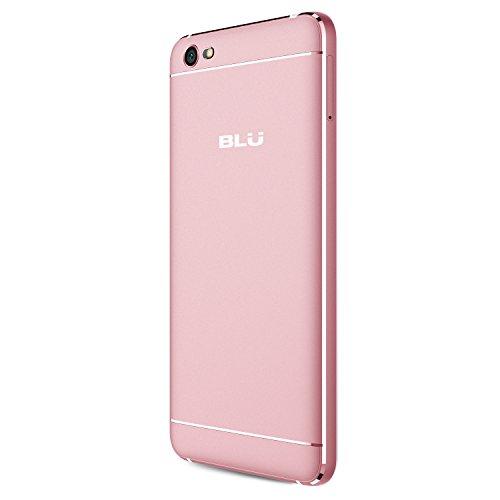 BLU Grand M -Smartphone Libre Doble SIM -Rosa Dorado