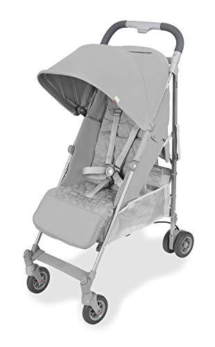 Maclaren Quest arc Silla de paseo - ligero, manillar unido, para recién nacidos hasta los 25kg, Asiento...