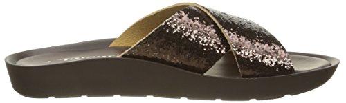 Tamaris 27108 Damen Pantoletten Braun (MOCCA GLAM 399)