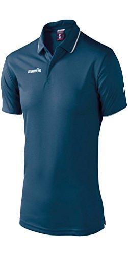 CHEMAGLIETTE! Herren Poloshirt Navy/Bianco