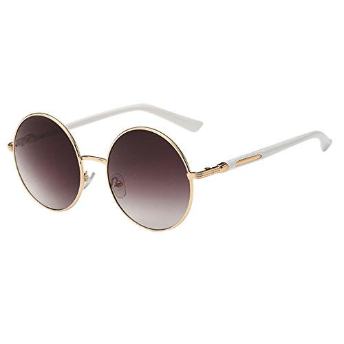 Botetrade Sommer Art Vintage Sonnenbrillen Runde Frau Brillen C2