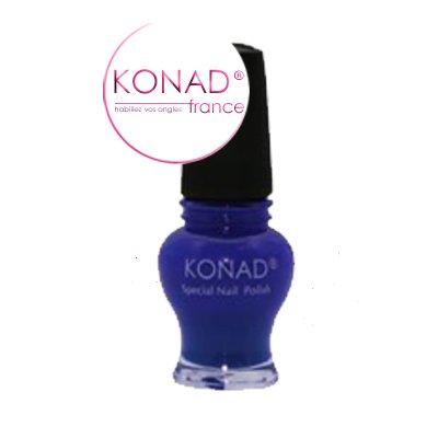 Vernis Stamping nail art Konad - Edition princess - Psychisme Bleu 12ml