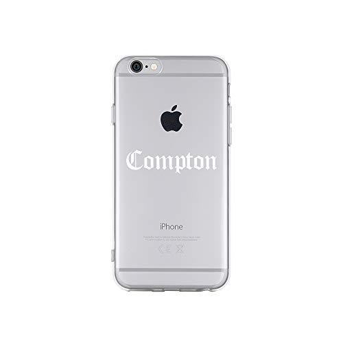 licaso Apple iPhone 6 Handyhülle Smartphone Apple Case aus TPU mit Compton Gang Print Motiv Slim Design Transparent Cover Schutz Hülle Protector Soft Aufdruck Lustig Funny Druck (Motiv Gang)